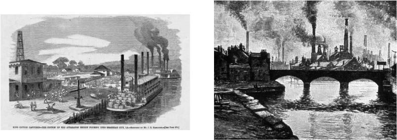 how the industrial revolution affects us The industrial revolution was the transition to new manufacturing processes in the as in the earlier industrial revolutions, the main effects of the information revolution on the next society still lie ahead those who came before us made certain that this country rode the.
